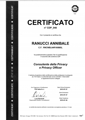 Privacy Officer and Certified Privacy Consultant - Prynet